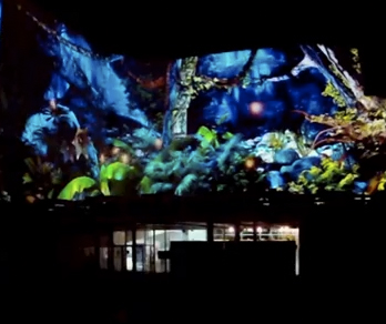 Espectáculo Metamorphosis-Videomapping