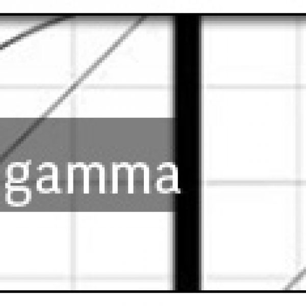 Entender la correcion de gamma