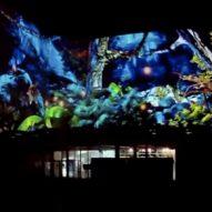 Espectáculo Metamorphosis-Videomapping